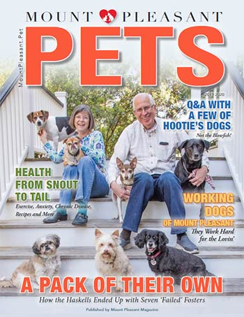 Mount Pleasant Pets 2019-20 magazine cover