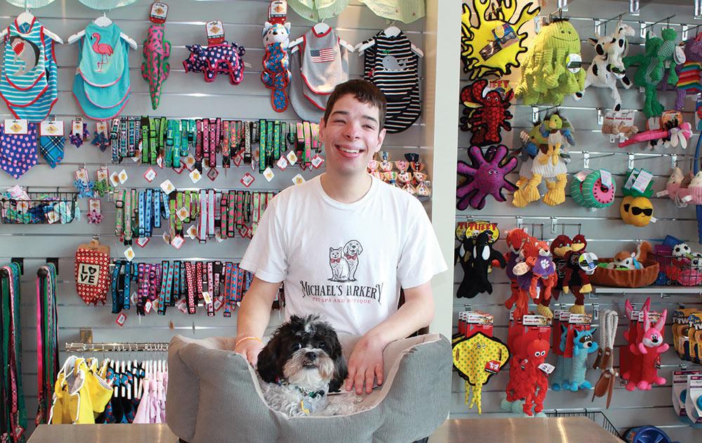Michael's Pet Barkery Pet Spa & Boutique in Daniel Island, South Carolina