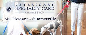 Veterinary Specialty Care. Locations in Mount Pleasant and Summerville, SC.