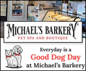 Michael's Barkery Pet Spa & Boutique in Daniel Island, SC.
