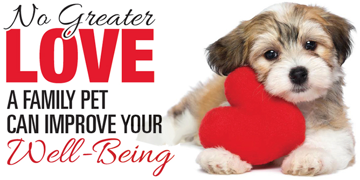 Owning a pet is good for your health