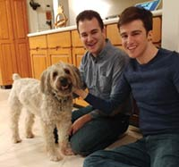 MT PLEASANT FAVORITE PET: Bailey the Soft-coated wheaten terrier