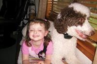 MT PLEASANT FAVORITE PET: Louie the Standard poodle