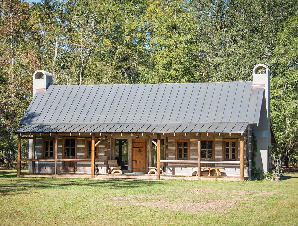 A cabin at the Hallie Hill Animal Sanctuary. Photos by Jeanne Taylor Photography | JTPetPics.com