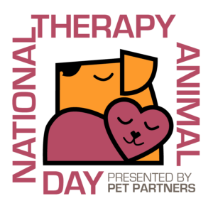 National Therapy Animal Day presented by Pet Partners logo