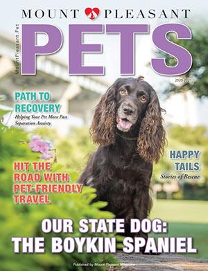 Mount Pleasant Pets 2021-22 magazine cover