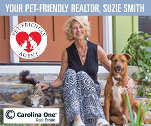 Suzie Smith, pet-friendly real estate agent/Realtor